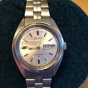 Seiko Series 5 Automatic Stainless Steel Watch